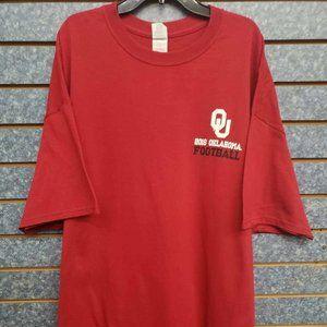 Gildan Oklahoma Football 2016 Red Shirt